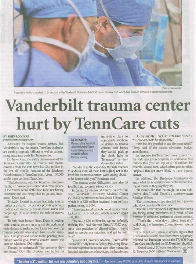Vanderbilt Trauma Center